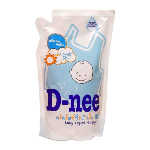 Nước giặt xả Dnee gói xanh 600ml