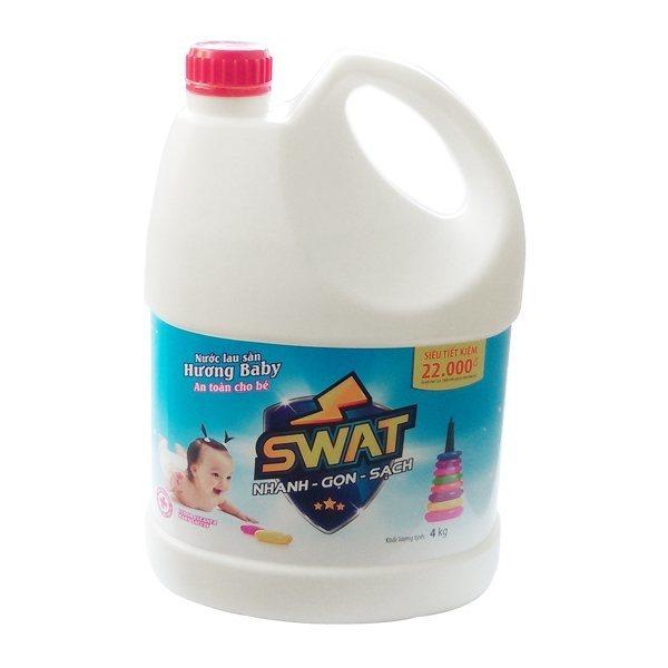 Nước lau sàn Swat 4kg