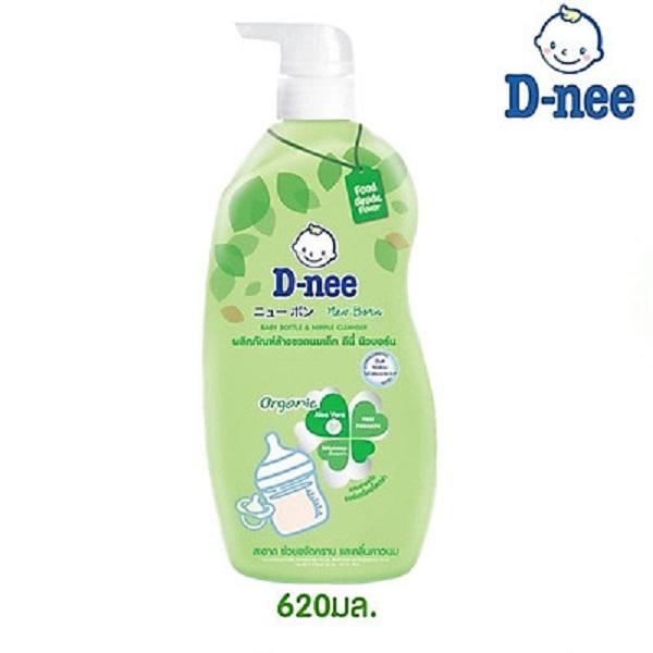 Nước rửa bình sữa D-nee Organic chai 620ml