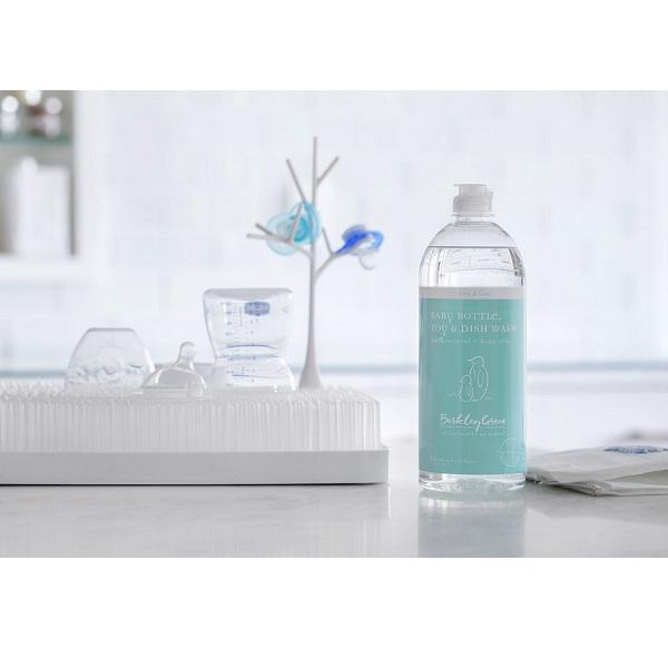 Nước rửa bình sữa và đồ chơi Berkley Green 739ml