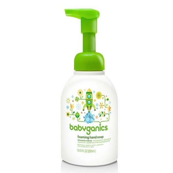 Nước rửa tay Babyganics 250ml