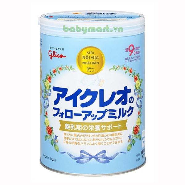Sữa công thức Glico Icreo Follow Up Milk số 9