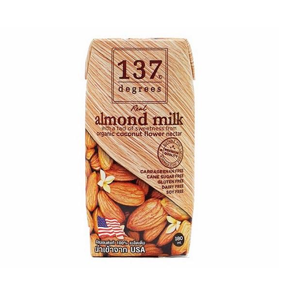 Sữa hạt hạnh nhân nguyên chất 180ml
