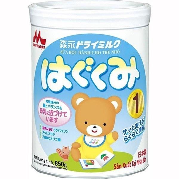 Sữa Morinaga số 1 850g cho bé