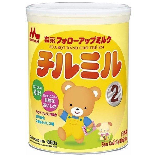 Sữa Morinaga số 2 850g cho bé