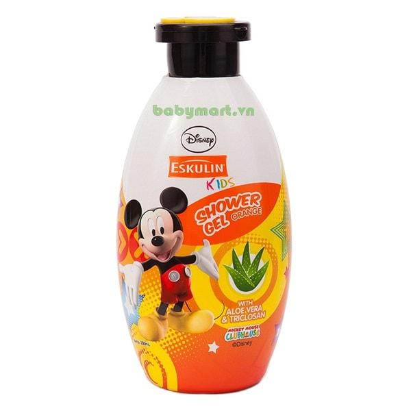 Sữa tắm Eskulin Mickey 200ml