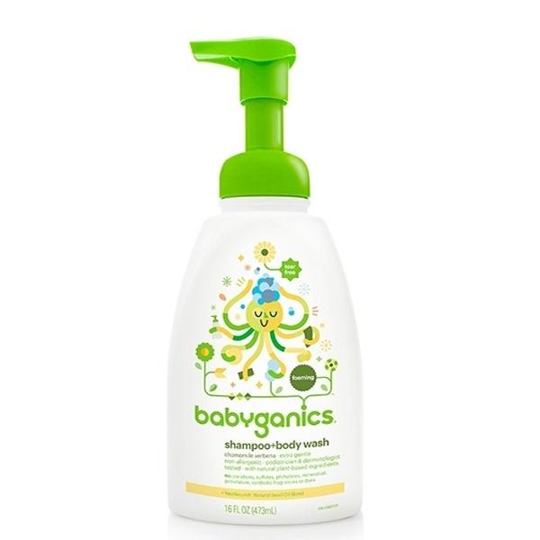 Sữa tắm gội Babyganics 473ml