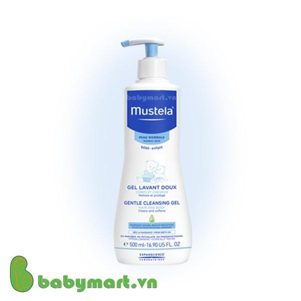Sữa tắm gội không chứa xà phòng Mustela 500ml