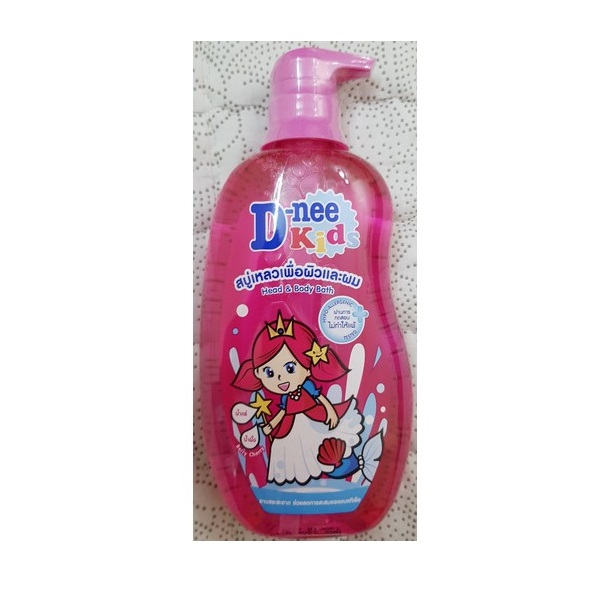Sữa tắm gội tòan thân trẻ em Dnee Kids 400ml hồng