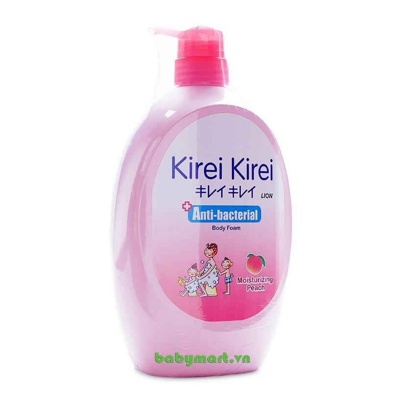 Sữa tắm Kirei Kirei đào 900ml
