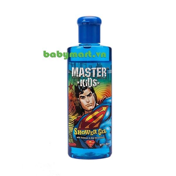 Sữa Tắm Master Kids Superman 200ml