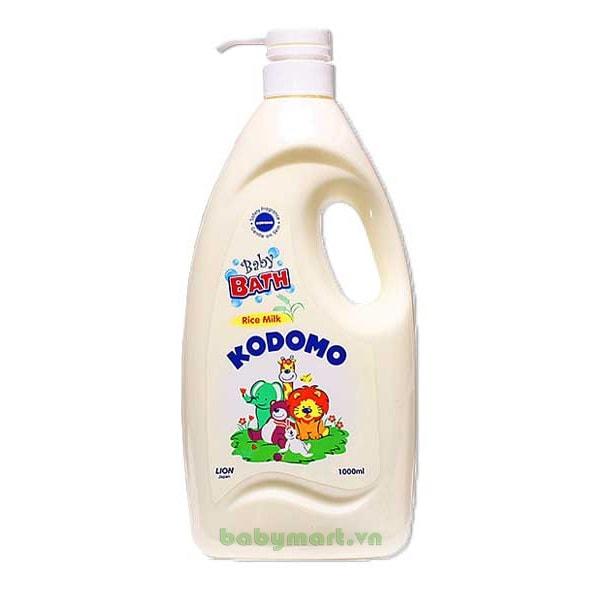 Sữa tắm tinh chất sữa gạo Kodomo 1000ml