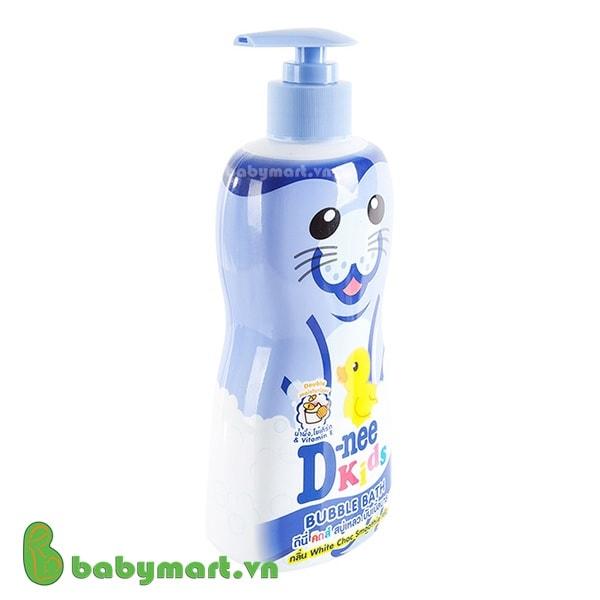 Sữa tắm trẻ em Dnee Kids tím 400ml