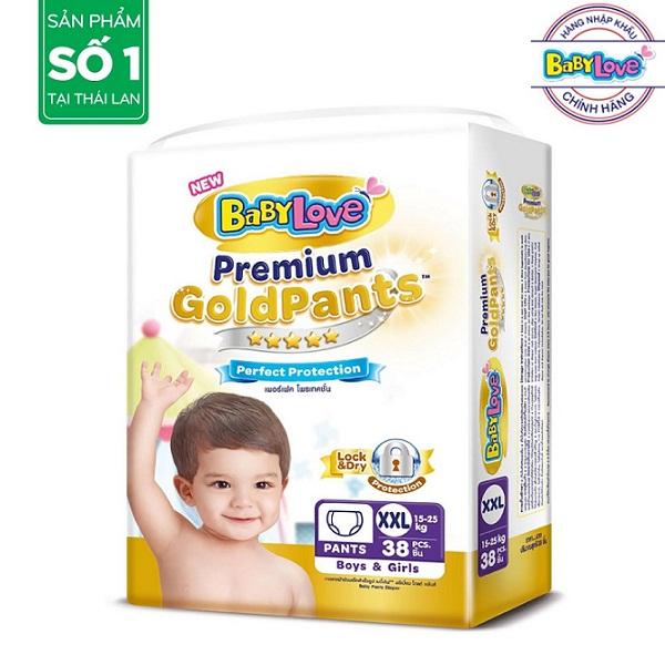 Tã quần cao cấp Goldpants XXL38 (15-20kg)