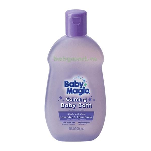 Tắm gội Baby Magic Lavender 266ML