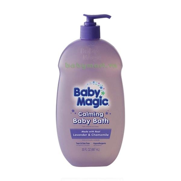 Tắm gội Baby Magic Lavender 887ML