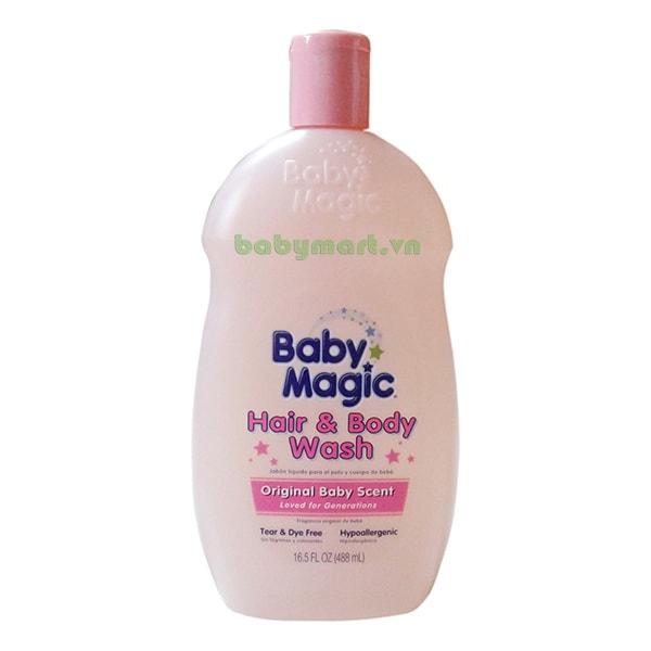 Tắm gội Baby Magic Original 488ML