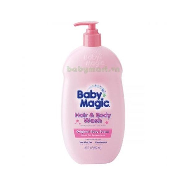 Tắm gội Baby Magic Original 887ML