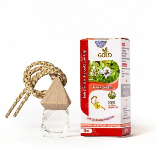 Tinh dầu bạc hà Gold cao cấp 10ml loại treo