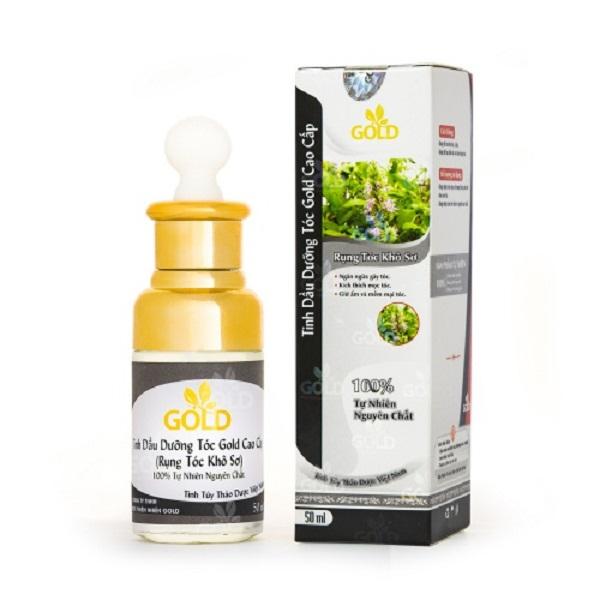 Tinh dầu dưỡng rụng tóc khô sơ Gold cao cấp 50ml