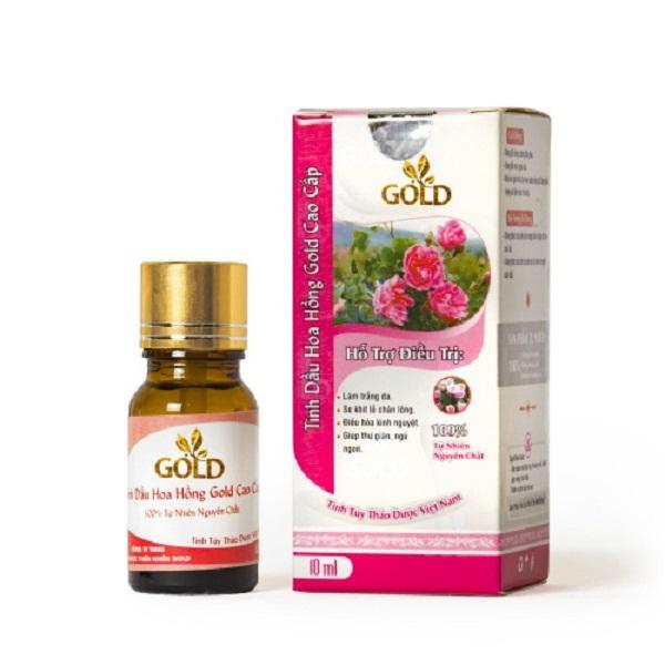 Tinh dầu hoa hồng gold cao cấp 10ml
