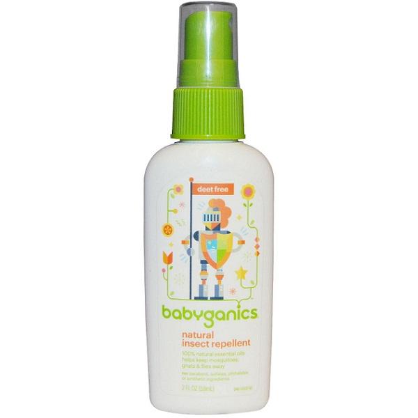 Tinh dầu xịt chống muỗi Babyganics 177ml