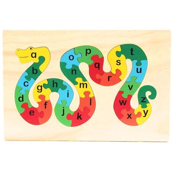 Đồ chơi gỗ - Tranh ghép ABC thường