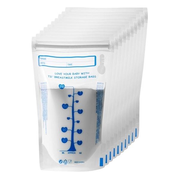 Túi trữ sữa Unimom cảm ứng nhiệt 210ml không BPA loại 20 túi UM870114