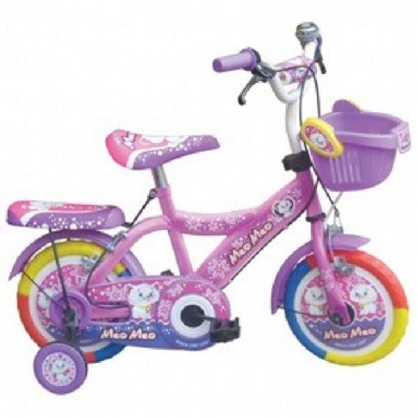 """Xe đạp trẻ em 12"""" 2 màu con Mèo"""