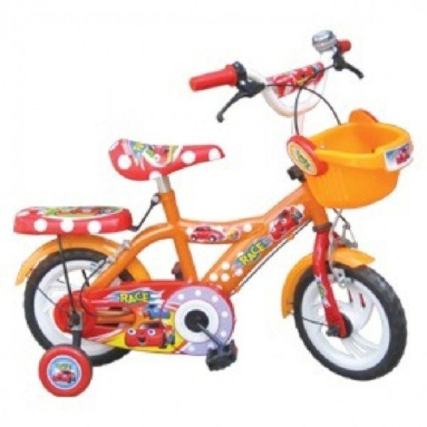 """Xe đạp trẻ em 14"""" hồng trắng / race / đỏ đen"""