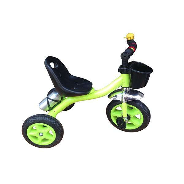 Xe đạp 3 bánh sắt xanh lá
