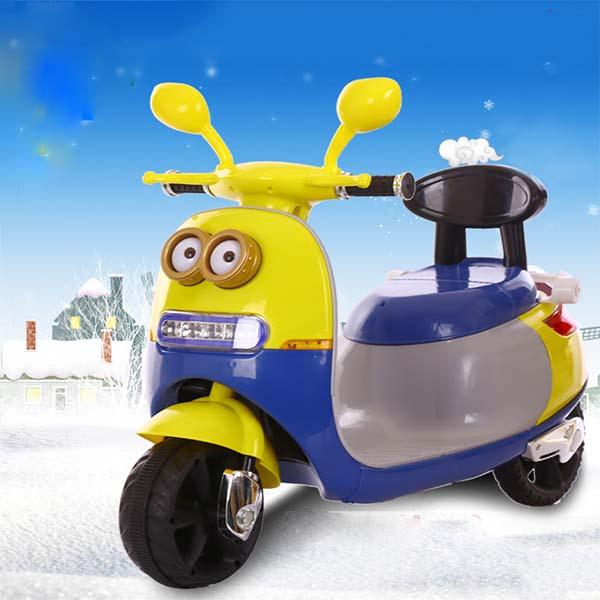 Xe máy điện 3 bánh Vespa Minions