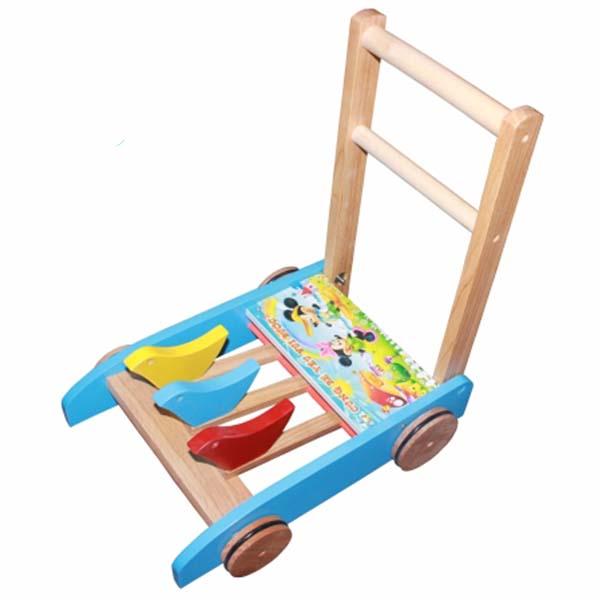 Xe tập đi bằng gỗ Song Son cho bé