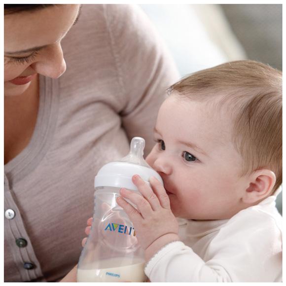 Bình sữa Philips AVENT – sự lựa chọn đáng tin của mẹ và bé