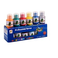 12 bottles of acrylic paint 30ml - ACRYLIC-12B