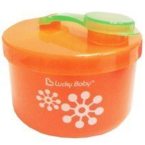 Lucky Baby milk powder dispenser - Orange