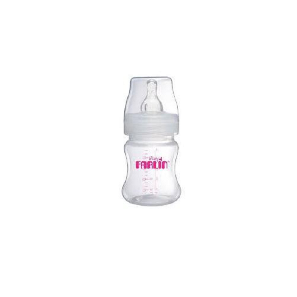 Farlin Plastic Bottle 140 ml pink