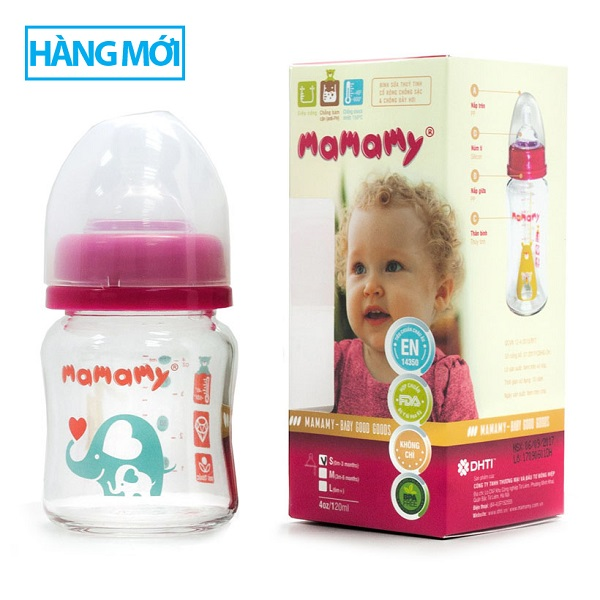 Milk Bottle 120ml Mamamy