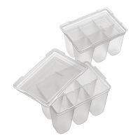Set of 2 freezer trays with lid 50ml Richel RC49090