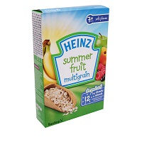 Heimz 125g sweet powder + 7m +, summer fruit