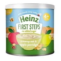 Bột Heinz 240gr ngọt 6m+, cháo kem yến mạch táo