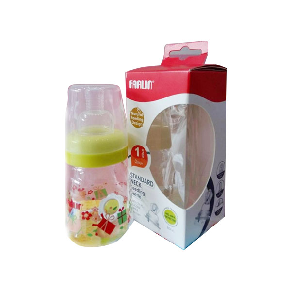 Farlin plastic milk bottle 60ml