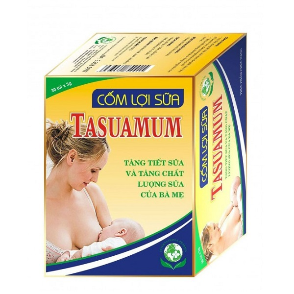 Cốm lợi sữa Tasuamum Gold (20 gói/hộp)