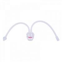 Hút mũi dây tự điều chỉnh bằng silicon Upass UP1006CT trắng