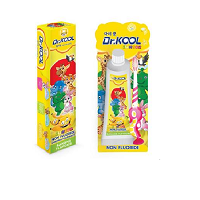 Toothpaste and Brush Dr Kool Banana