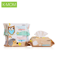 K-Mom Wet Wipes Without Smell 100 Pieces
