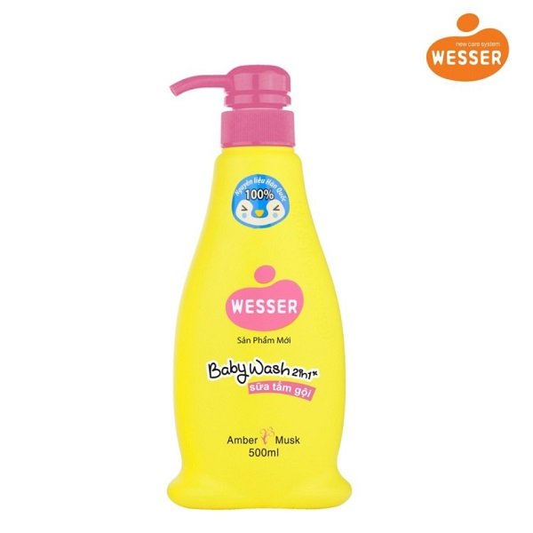 Wesser 2 shampoo for musk amber 500ml