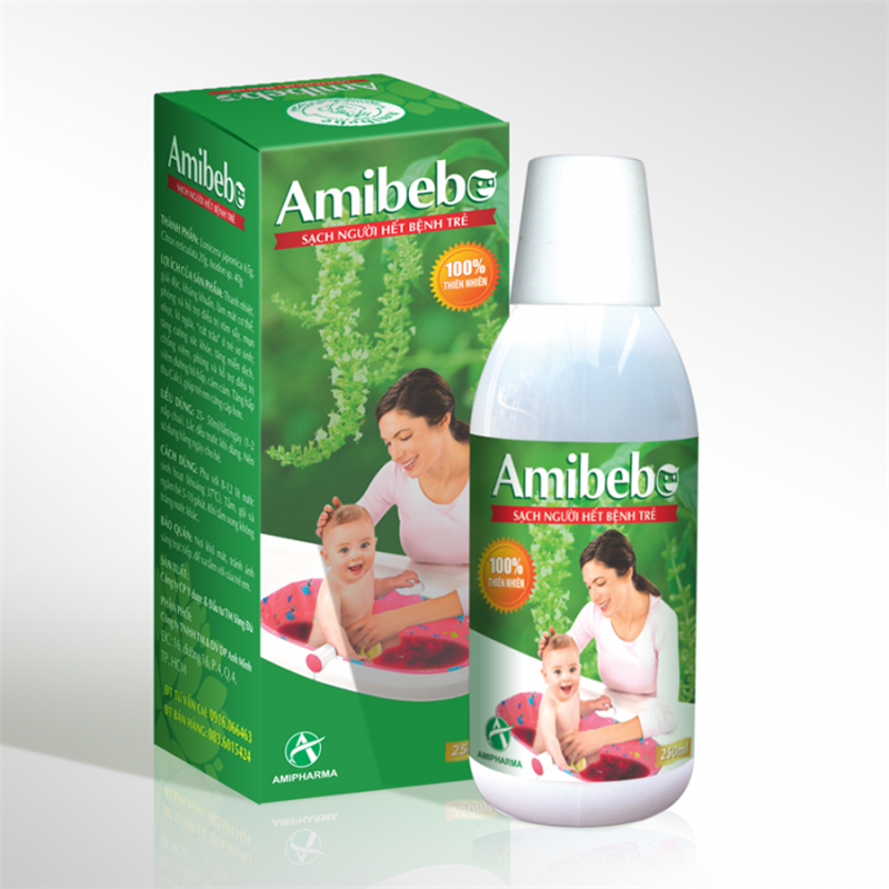 Amibebe Baby Wash 250ml
