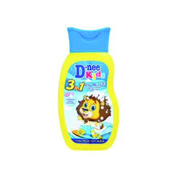 Dnee Kids 3 shampoo in 1 liter of gold