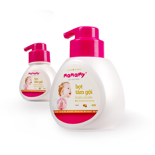 Mamamy 400ml natural shower gel